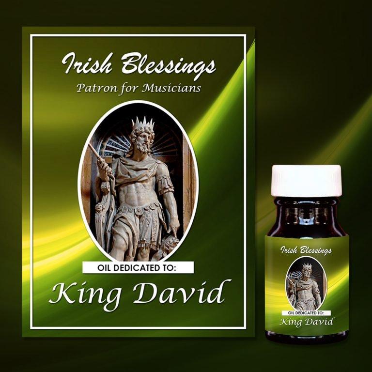 King David Healing Oil (Patron for Musicians)