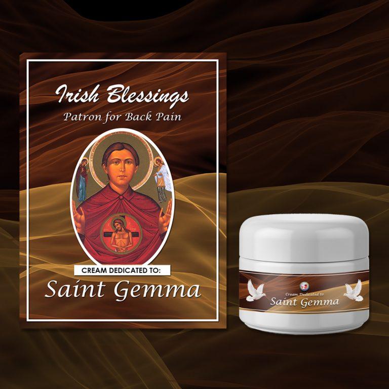 St Gemma Healing Cream (Patron for Back Pain)