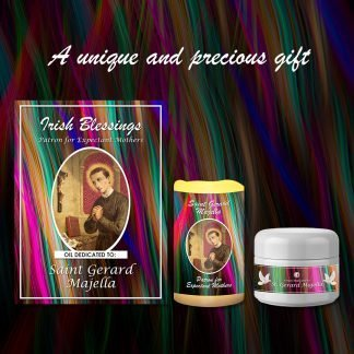 St Gerard Majella Set (Patron for Expectant Mothers) - Exclusive Gift
