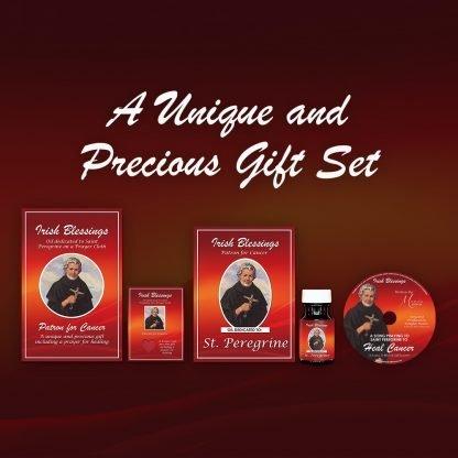 St Peregrine gift set