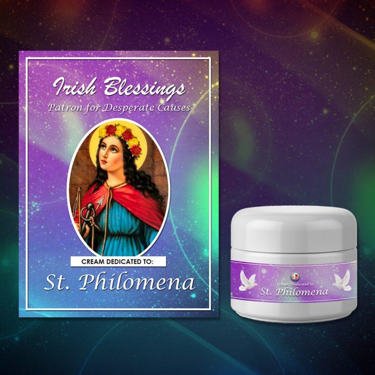 St Philomena Healing Cream (Patron for Desperate Causes)