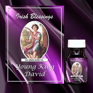 Young King David Healing Oil