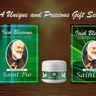 St Pio Set(Patron for Stress Relief) - Exclusive Gift