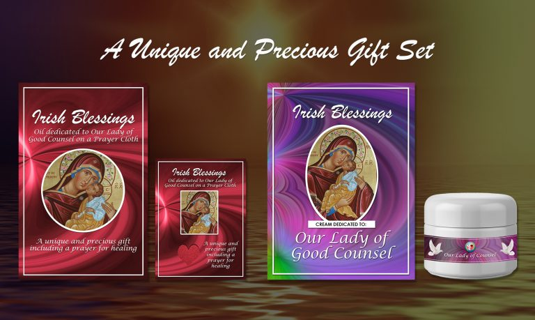 Our Lady of Good Counsel 3 Set - Exclusive Gift