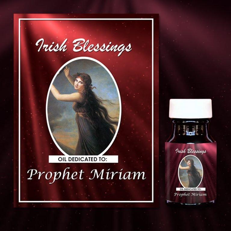 Prophet Miriam Oil - Exclusive Gift