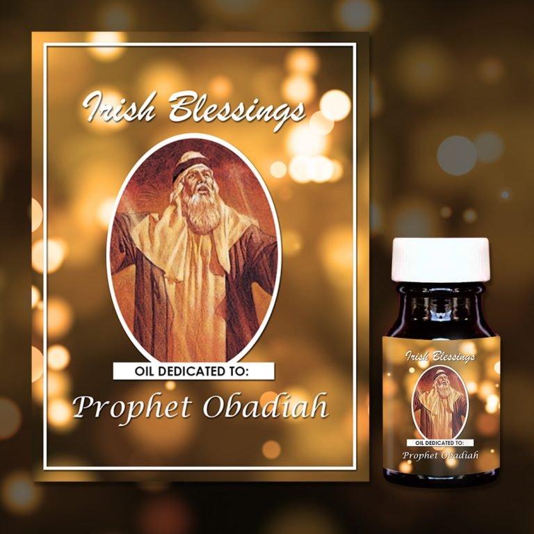 Prophet Obadiah Oil - Exclusive Gift