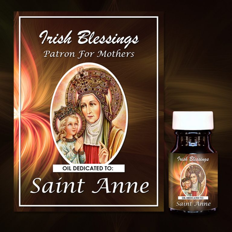 St Anne (Patron for Mothers) Healing Oil