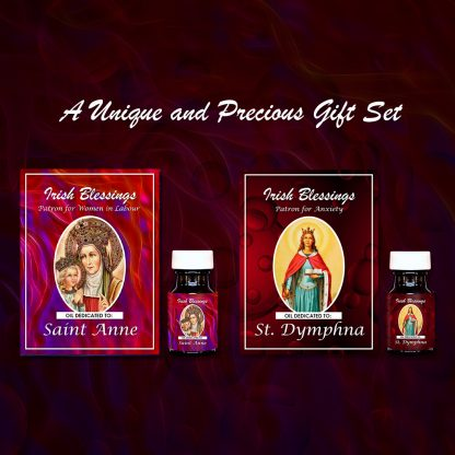 St Anne Oil and St Dymphna Oil Set - Exclusive Gift