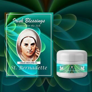 St Bernadette Cream (Patron for the Sick) - Exclusive Gift
