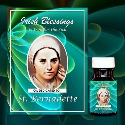 St Bernadette Oil (Patron for the Sick) - Exclusive Gift