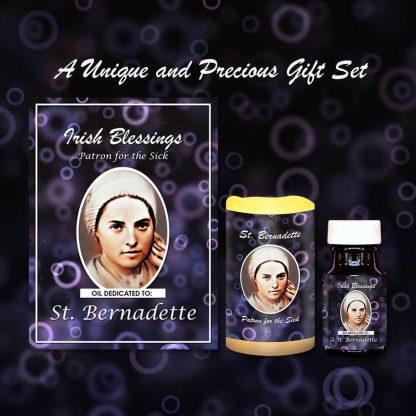 St Bernadette Set (Patron for the Sick) - Exclusive Gift