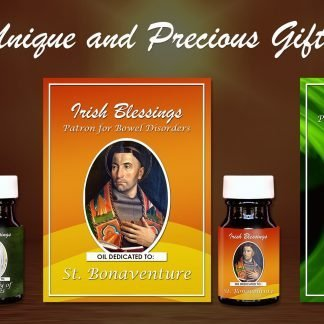 St Bonaventure, St Vitalis, Our Lady of Lourdes Set - Exclusive Gift