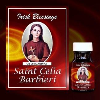St Celia Barbieri Healing Oil