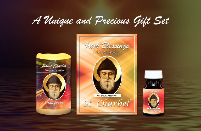 St Charbel (Miracle Worker) Set - Exclusive Gift