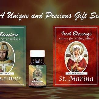 St Erasmus and St Marina Set - Exclusive Gift