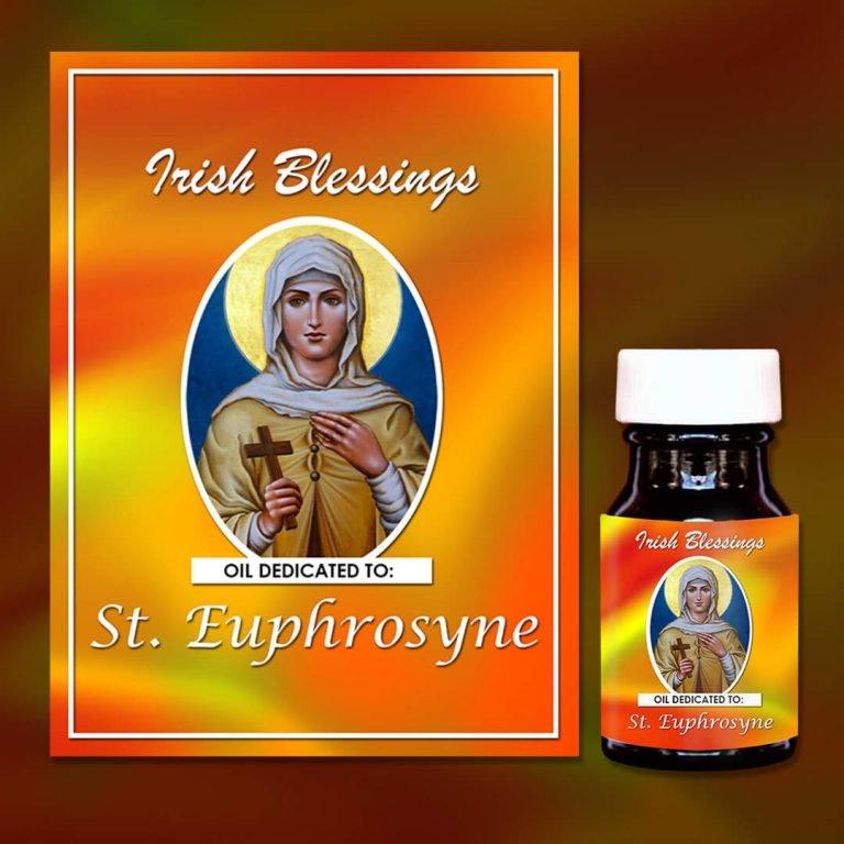 St Euphrosyne 1 Healing Oil