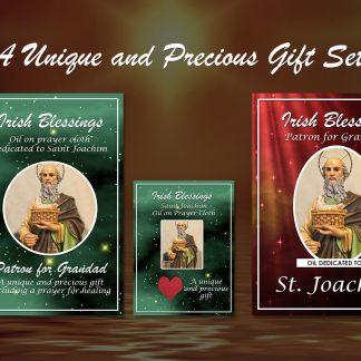 St Joachim Set (Patron for Grandad) - Exclusive Gift
