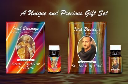 St John of God and St Andrew Avellino Set - Exclusive Gift