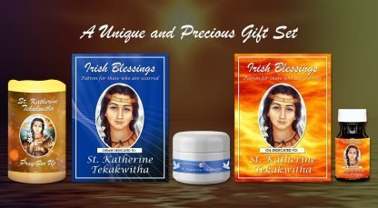 St Katherine Tekakwitha (Patron for those who are scared) Set Presentation (2)