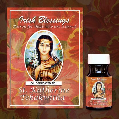 St Katherine Tekakwitha Oil 1