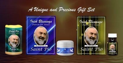 Exclusive Gift Set 50 - St Pio Set (Patron for Stress)