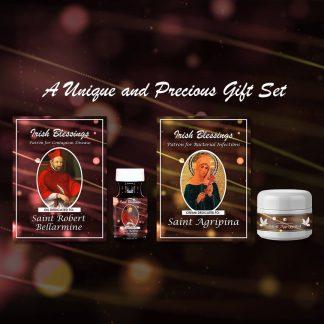 St Robert Bellarmine and St Agrippina Set - Exclusive Gift