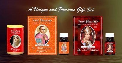 St Stanislaus, St Alphonsus Liguori, Our Lady of Fatima Set - Exclusive Gift
