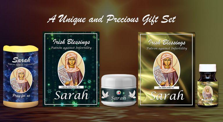 Exclusive Gift Set 67 - Sarah Patron against Infertility