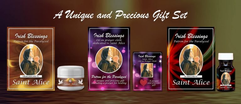 Exclusive Gift Set 61 - St Alice (Patron for the Paralyzed)