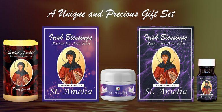Exclusive Gift Set 66 - St Amelia (Patron for Arm Pain)