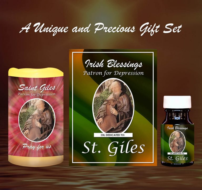 Exclusive Gift Set 57 - St Giles (Patron for Depression)