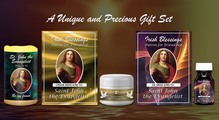 Exclusive Gift Set 73 - St John the Evangelist (Patron for Friendship)