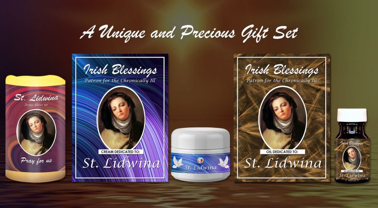 Exclusive Gift Set 71 - St Lidwina (Patron for Chronically Ill)