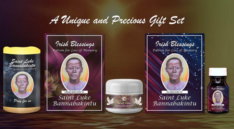 Exclusive Gift Set 70 - St Luke Bannabakintu (Patron for loss of Memory)