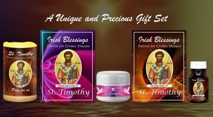 Exclusive Gift Set 68 - St Timothy (Patron for Crones Disease)
