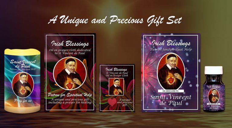 Exclusive Gift Set 74 - St Vincent de Paul (Patron for Spiritual Help)