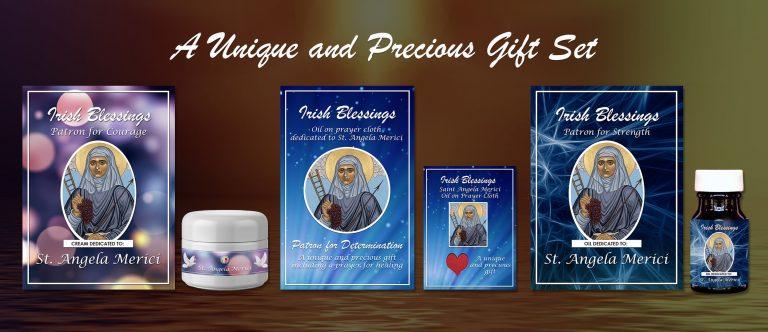 Exclusive Gift Set 79 - St Angela Merici (Patron for Determination)