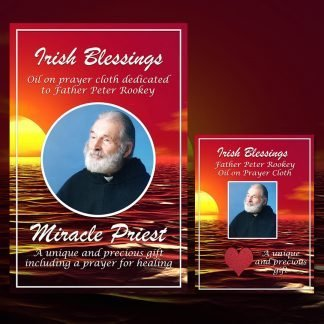 Fr Peter Rookey Prayer Cloth Card