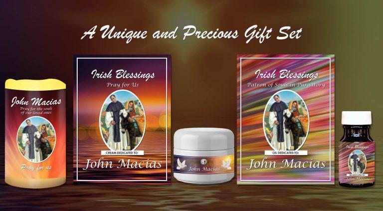 Exclusive Gift Set 80 - John Macias (Patron of Souls in Purgatory)