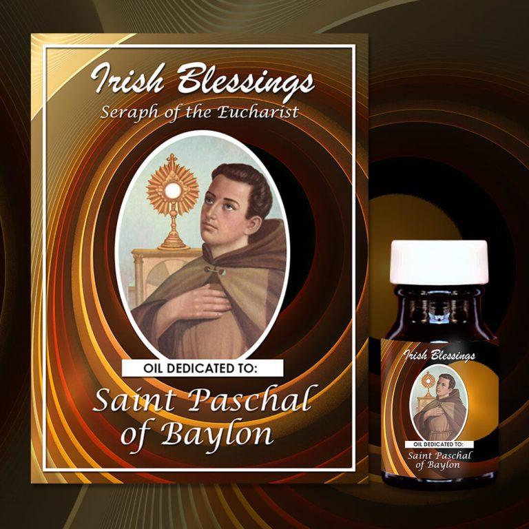 Saint Paschal of Baylon Healing Oil (Seraph of the Eucharist)