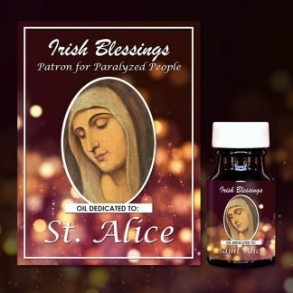 St Alice healing oil (Patron for Paralyzed People)