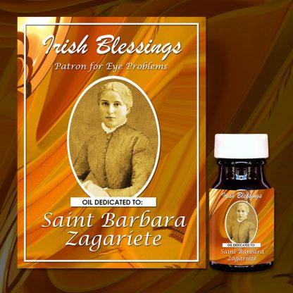 St Barbara Zagariete Healing Oil 2 (Patron for Eye problems)