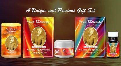Exclusive Gift Set 92 - St Barbara Zagariete Set (Patron for Eye problems)