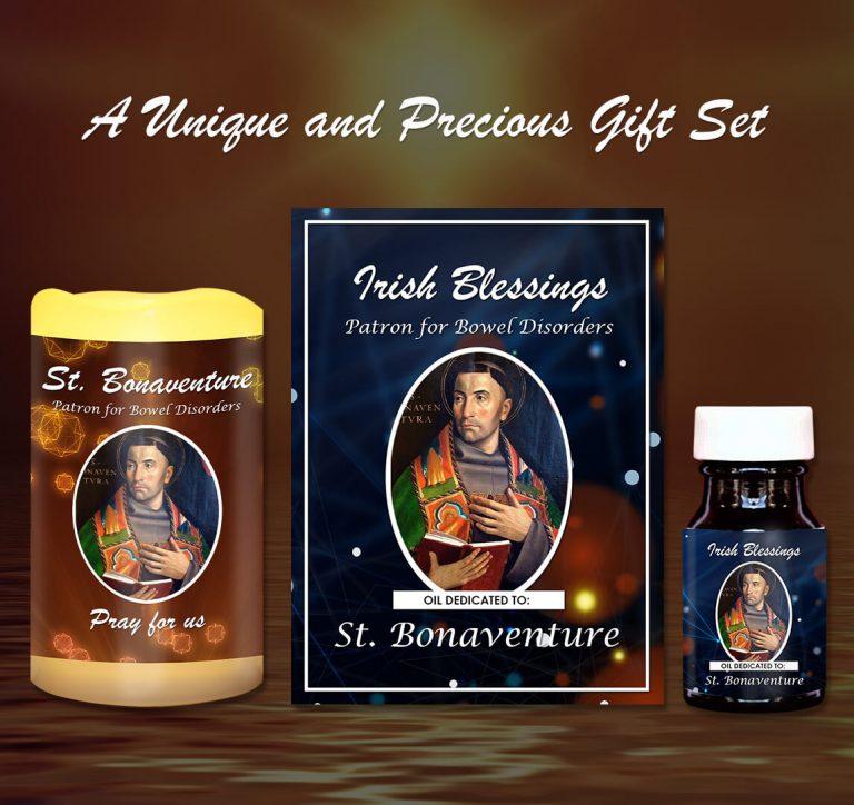 Exclusive Gift Set 81 - St Bonaventure (Patron for Bowel Disorders)
