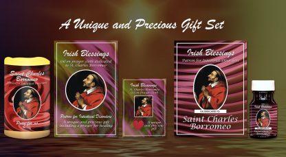 Exclusive Gift Set 83 - St Charles Borromeo (Patron for Intestinal Disorder)