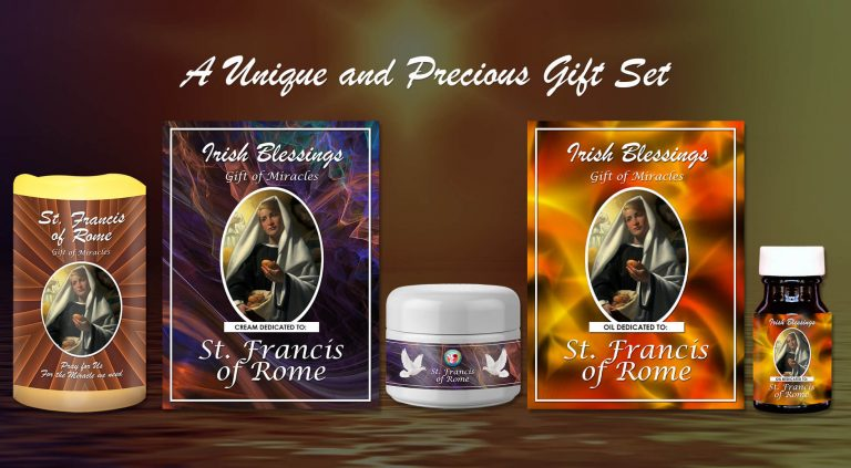 Exclusive Gift Set 84 - St Francis of Rome Gift of Miracles