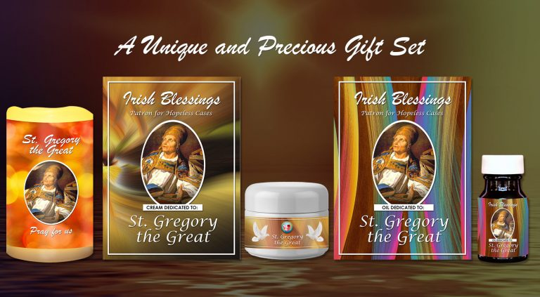 Exclusive Gift Set 85 - St Gregory the Great (Patron for hopeless cases)
