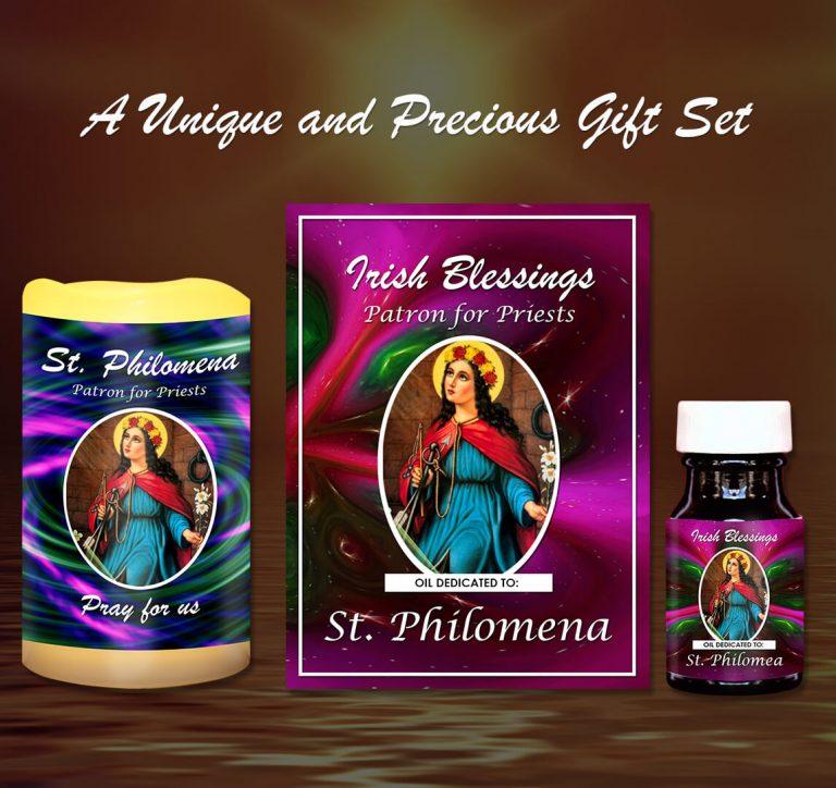Exclusive Gift Set 88 - St Philomena (Patron for Priest)