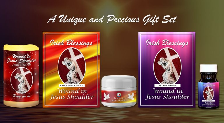 Exclusive Gift Set 91 - Wound in Jesus Shoulder from A Blessed Call to Love