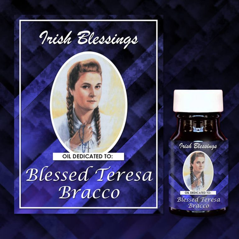 Blessed Teresa Bracco 2 healing oil